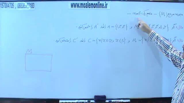 آموزش شیرین ریاضی نهم - متمم و مجموعه مرجع