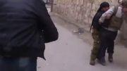 تیر خوردن سگلفی در سوریه