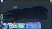 کراکن(هشت پای غول پیکر)در بازی سیمز 3 جزیره بهشت