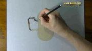 نقاشی پارچ فلزی - هایپر ریالیستیک