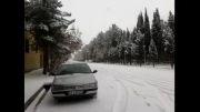 یک روز برفی در بیرجند