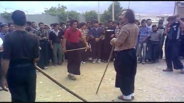 چوب بازی لری خیلی خیلی حرفه ای