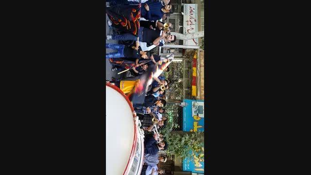 گروه موزیک شهرستان دماوند در روز شهادت امام صادق 94