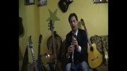 آهنگ شماعی زاده -  کلارینت -احمد زنوری