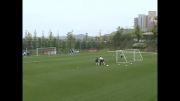 انواع تمرینات سرعتی در فوتبال