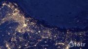 زمین در شب  Earth at night