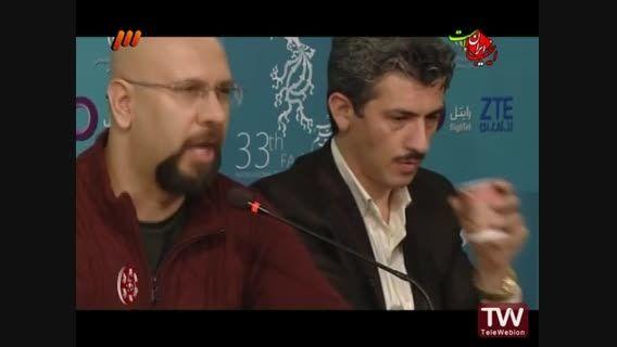 فرش قرمز و نشست مطبوعاتی فیلم سینمایی قلعه رودخان