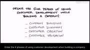 چگونه استارتاپ بسازیم 4 -3 -چهار فاز توسعه مشتری در مدل کسب و کار