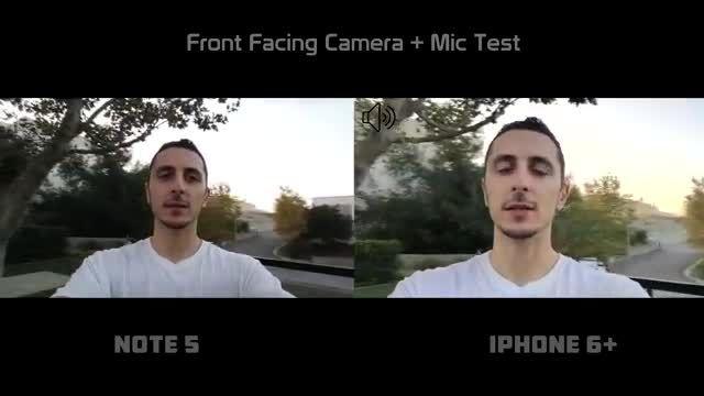 Galaxy Note 5 vs iPhone 6 plus _Camera Comparison