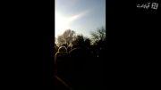 حمید مهدوی در چهلم مرتضی پاشایی در کنار مردم