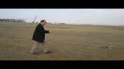 گیلان آرسی-پرواز روز 22 بهمن 1392 زمین پرواز جاده جیرده