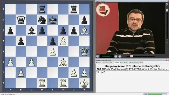فیلم شطرنج - تاکتیک های سیسیلی شونینگن chessok.ir