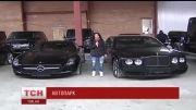کلکسیون شخصی خودروهای رئیس جمهور اوکراین در دست مخالفان