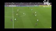 اولین گل مسی در لیگ قهرمانان