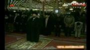 نماز جماعت مغرب به امامت باصفای زنده یاد حاج سید احمد خمینی