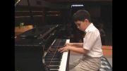 پیانو کودک -نابغه 9ساله سپهرقاضی مرادی- پیمان جوکار