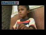 کلیپ کودک ۸ ساله ای كه سیگار می كشد