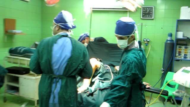 فیلم جراحی موفقیت آمیز تعویض مفصل در پارس آباد مغان