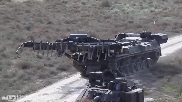 Keiler ،خودروی مین روب ارتش آلمان