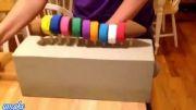 کرم مکانیکی چوبی: اسباب بازی بچگانه