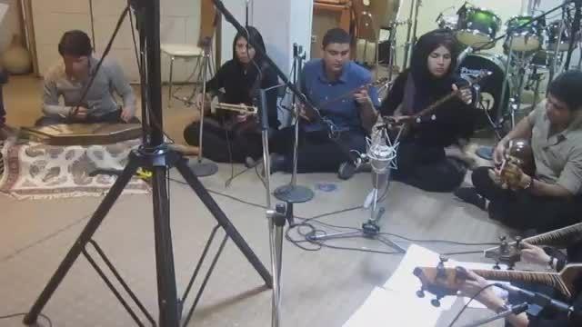 ضبط استودیو پاپ بخش 10-گروه تارنوازان - سرپرست گروه نیم
