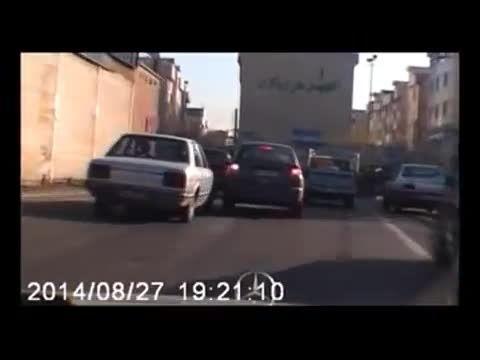 تعقیب و گریز دیدنی  پلیس و سارق در جنوب شرق