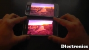 Samsung Galaxy Alpha vs Samsung Galaxy S5 - Screen test