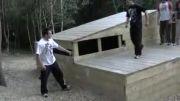 آموزش پارکور-Side Flip(ساید فلیپ)