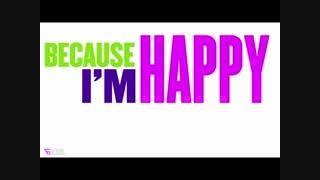 ♥♡♥☻آهنگ be cause Im Happy ☻☻♥♡♥