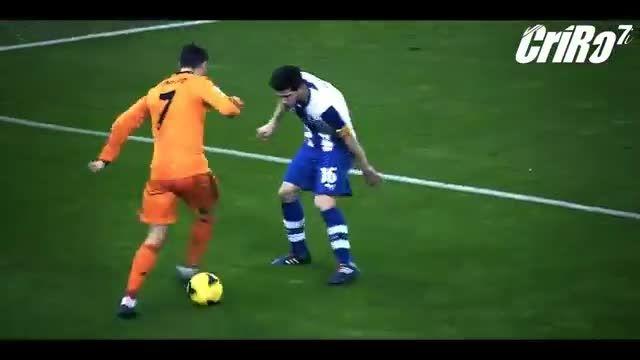 برترین حرکات کریستیانو رونالدو در رئال و من یونایتد