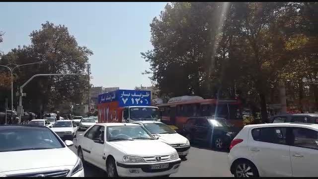 حمل گرونترین کالسکه ی طلا در ایران با اتوبار ظریف بار