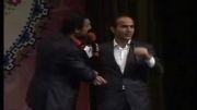 اجرای مشترک بسیار خنده دار حسن ریوندی و امیر افشار