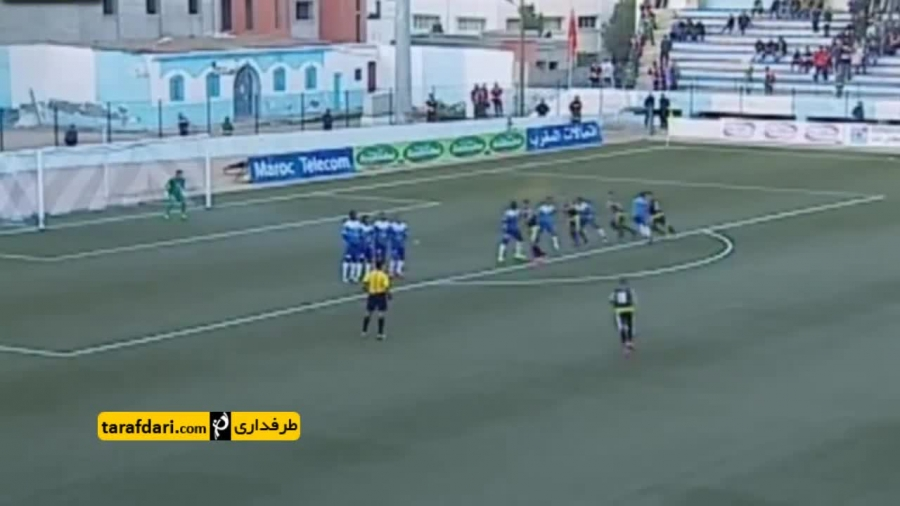 گل زیبای روز (۱۵7)- ضربه آزاد زیبا در لیگ مراکش