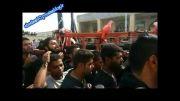 سینه زنی سنتی روز عاشورا حسینیه اعظم شهر کاکی1393_1