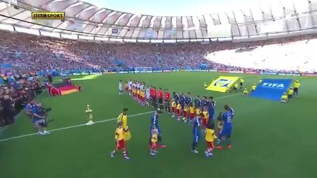خلاصه بازی : آلمان 1 - 0 آرژانتین (فینال جام جهانی2014)