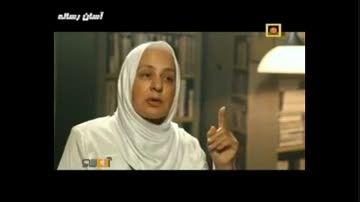 صحبت های خانم حسینی (خامگیاهخوار) در شبکه مستند