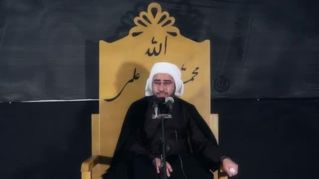 روضه خوانی عربی شیخ خلیل الساری در مورد شهادت حضرت زهرا