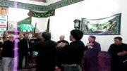 سینه زنی حضرت علی اصغر (ع) در حسینیه سیدالشهداء