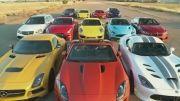 مسابقه درگ بین سریعترین ماشین های دنیا -3
