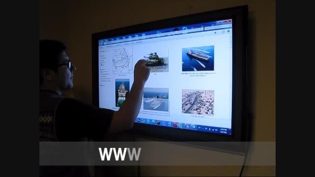 کاربرد کامپیوتر های لمسی در آموزش های نظامی