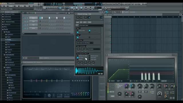 آموزش اف ال استودیو     ساخت کیک برای بیت هیپ هاپ