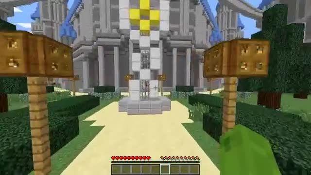 Minecraft School - مدرسه در ماینکرافت