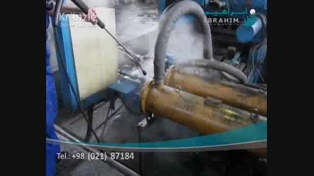 واترجت آب گرم- کارواش صنعتی- جت واش برقی
