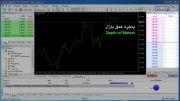 پنجره عمق بازار در نرم افزار فارکسر5