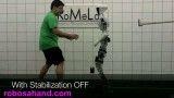 ربات انسان نمای چارلی 2 و حفظ تعادل