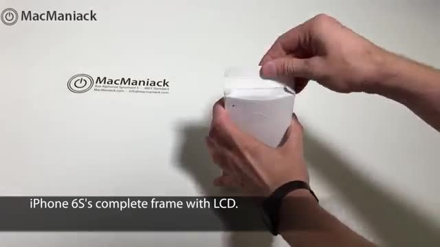 مقایسه صفحه نمایش آیفون 6 و آیفون 6 اس