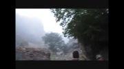 آبشار در دل سلطان میدان-جنگل ابر