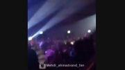 مرتضى پاشایى در کنسرت مهدى احمدوند