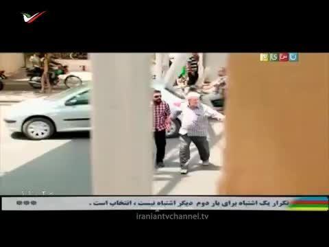 دوربین مخفی خنده دار ایرانی- مهمان خارجی - شبکه تصویری