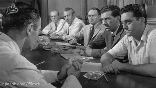 دوازده مرد خاموش: مونتاژی از نماهای بی کلام فیلم لومت